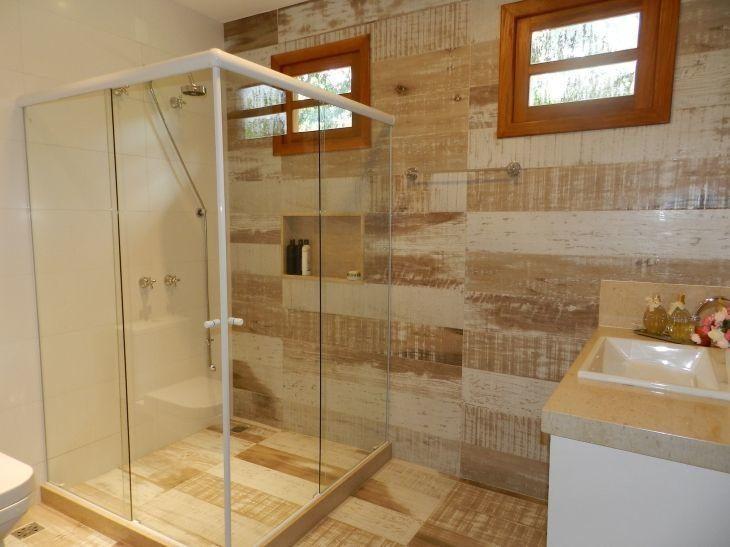 Porcelanato que imita madeira 60 fotos de ambientes super elegantes - Fotos de pisos decorados ...
