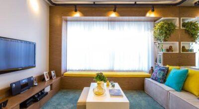 Um projeto de apartamento decorado com estilo industrial para se inspirar