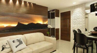 Apartamento decorado para dois irmãos que queriam sair da casa da mãe para morar sozinhos