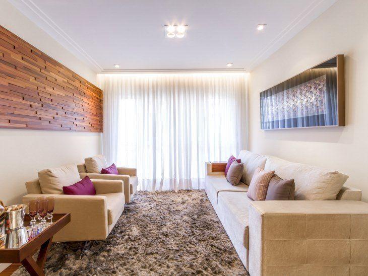 b9d333aa4 Você vai adorar a decoração com tons neutros desse apartamento