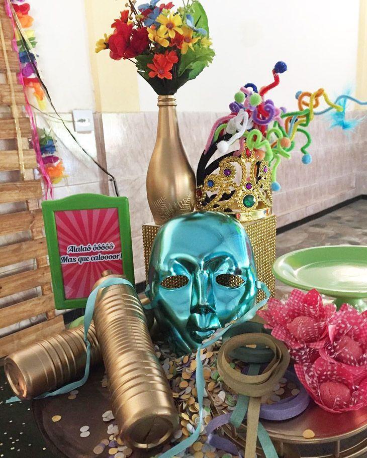 40 Ideias De Decoração De Carnaval Para Animar A Casa Sem Gastar Muito