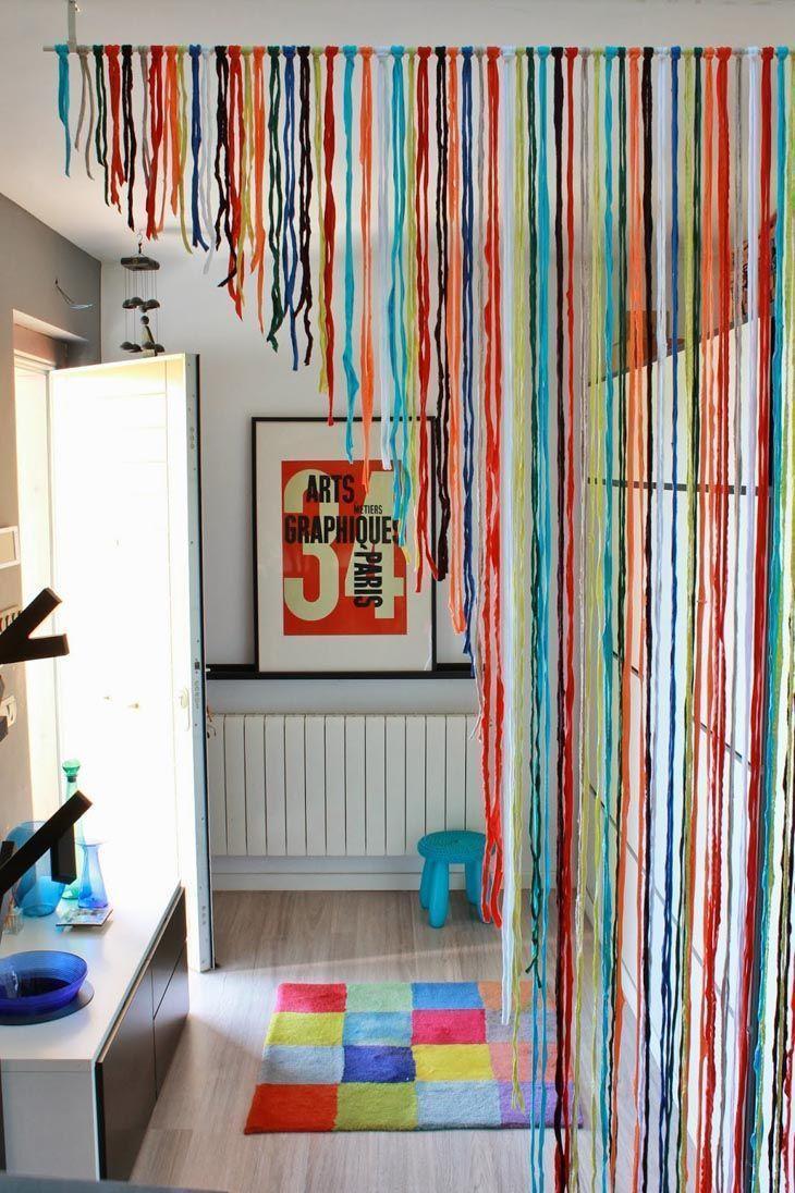63 Maneiras Criativas De Usar Cortinas Sem Ser Necessariamente Na  ~ Cortina Curta Para Quarto De Casal