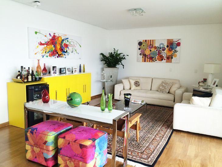 65c216c5d Móveis coloridos: 150 ideias para decorar diversos ambientes da casa
