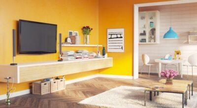 Parede amarela: veja dicas para decorar espaços usando essa cor vibrante