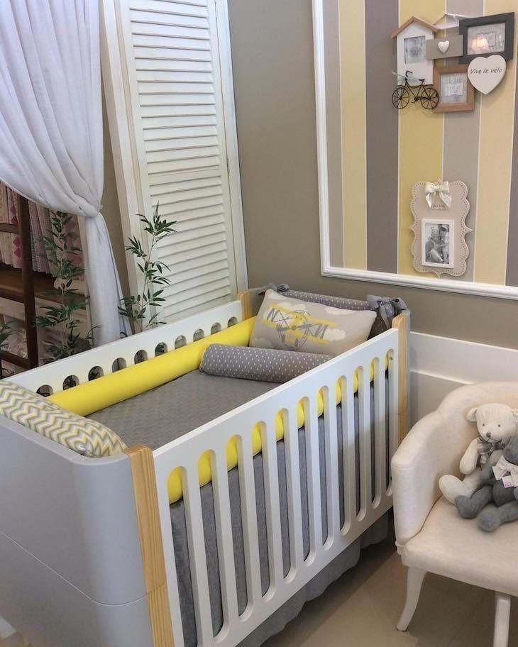 Excepcional Quarto de bebê sem gênero: 30 inspirações para decorações neutras NB38