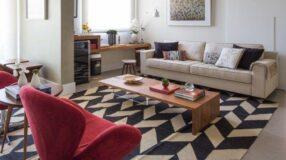 Como escolher o tapete ideal para sua sala de estar