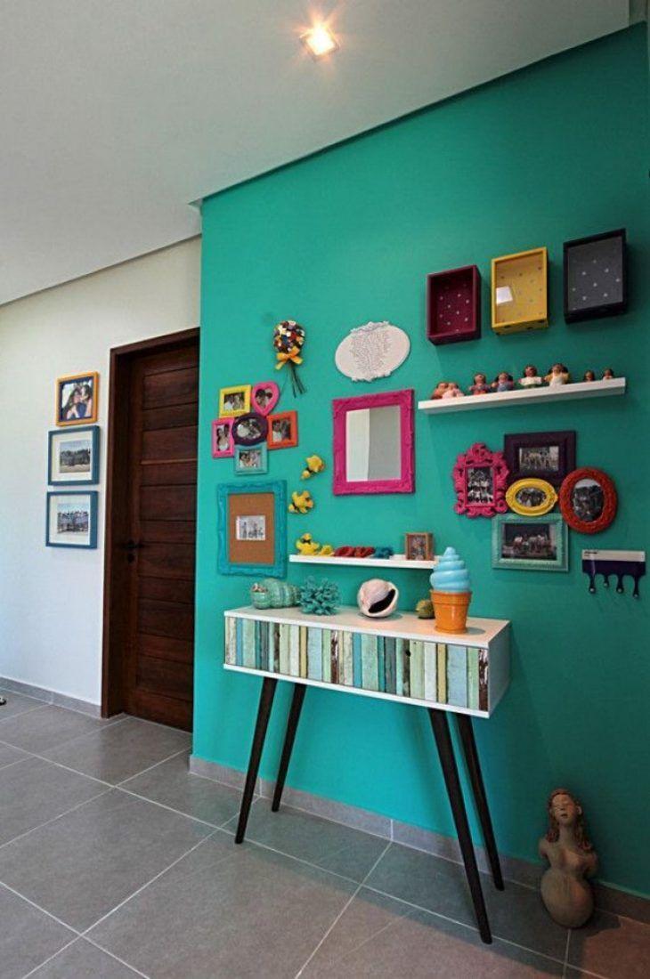 Azul turquesa adicione requinte e tranquilidade na sua - Azul turquesa pared ...