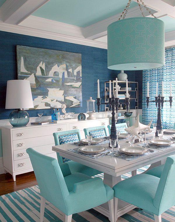 Azul turquesa adicione requinte e tranquilidade na sua for Monochromatic decor