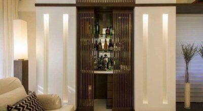 53 fotos inspiradoras para quem quer um bar de parede em casa