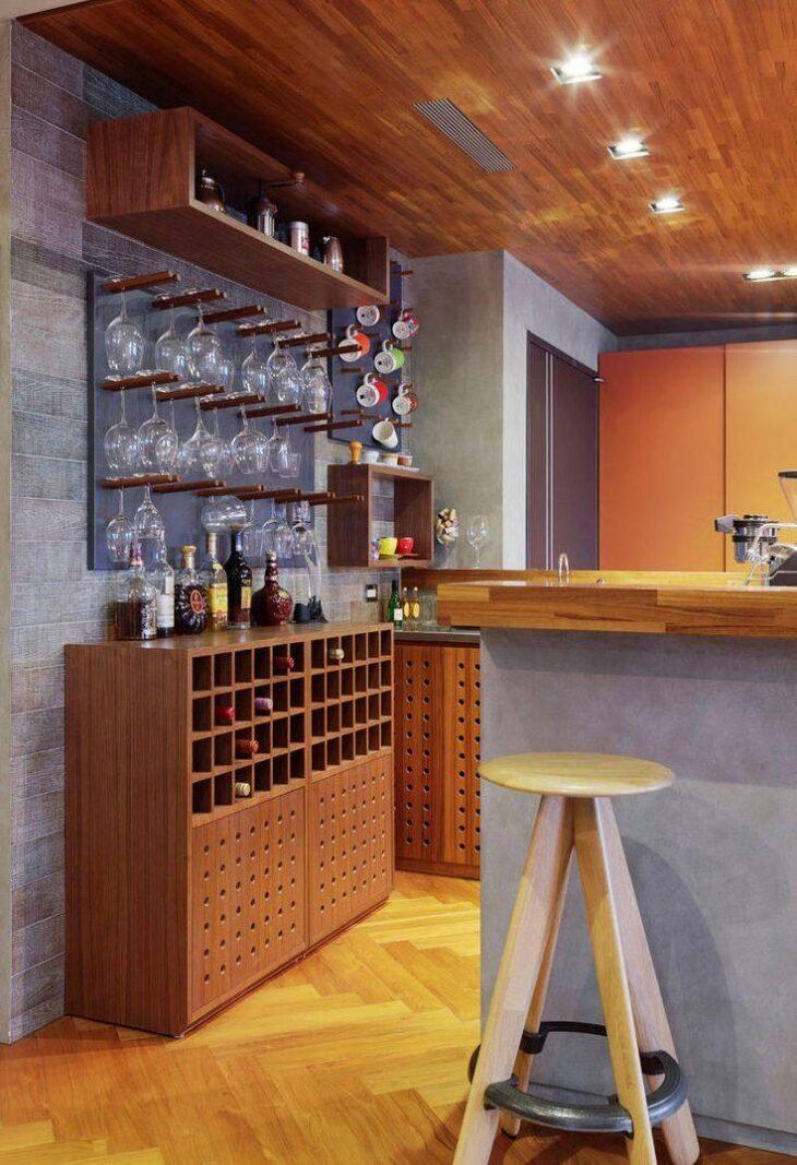 53 fotos inspiradoras para quem quer um bar de parede em casa for Bar en casa rustico