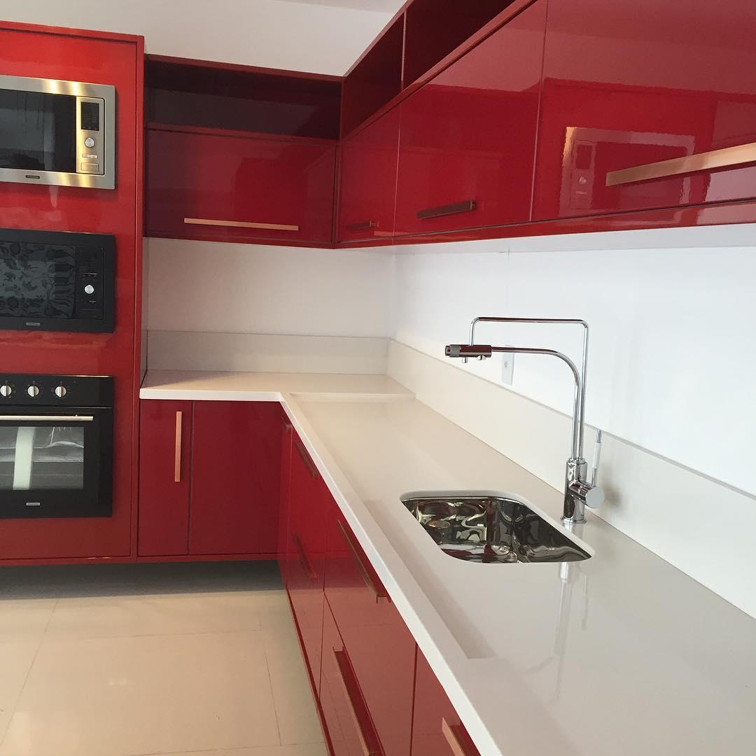 Aparador De Grama Eletrico Leroy Merlin ~ 50 cozinhas vermelhas para uma casa cheia de personalidade