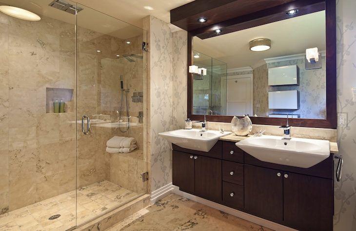 Decora o de banheiro 100 ideias para deixar o c modo for 9x5 bathroom ideas
