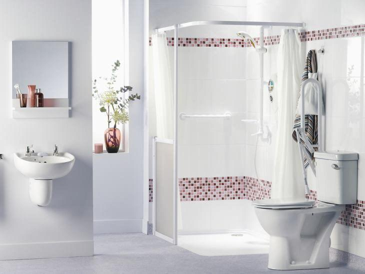 decoração de banheiro todo branco