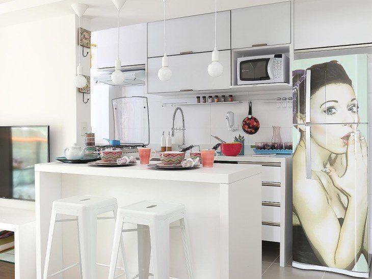 Resultado de imagem para plotter de geladeira cozinha