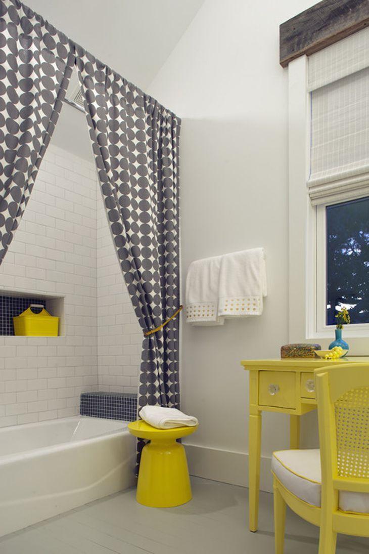 63 maneiras criativas de usar cortinas sem ser - Cortinas para separar ambientes ...