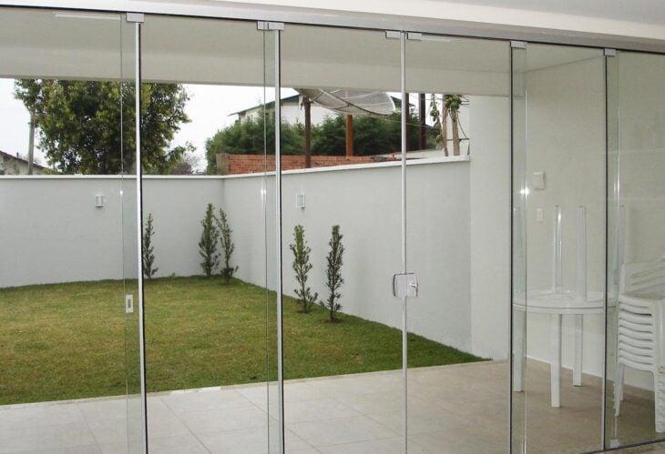 Well-known Como escolher a porta de vidro ideal para sua casa (fotos e dicas) SU03