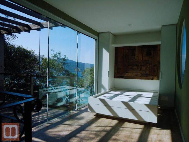 Well-known Como escolher a porta de vidro ideal para sua casa (fotos e dicas) OI83
