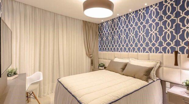 Acerte no estilo na hora de montar um belíssimo quarto azul em sua casa