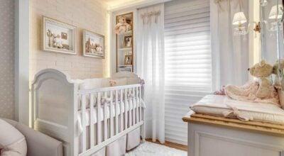30 fotos de quarto de bebê feminino que você vai ficar totalmente encantada