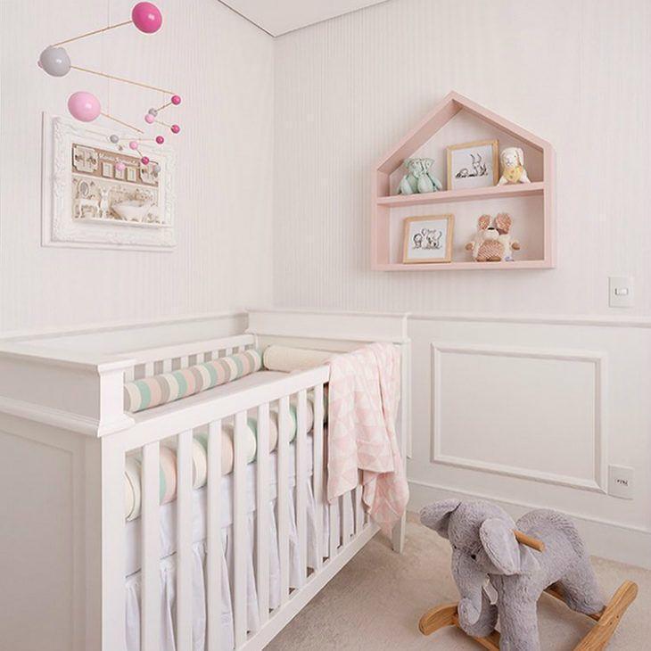 115080da9 30 fotos de quarto de bebê feminino que você vai ficar totalmente ...