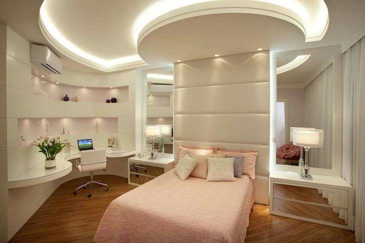 Quarto de mo a ideias de como decorar o dormit rio com for Dormitorios super modernos
