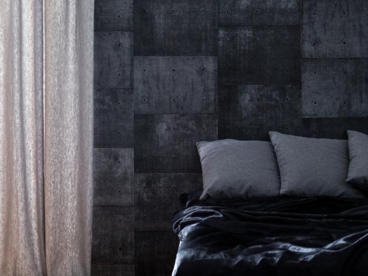 40 modelos de quarto preto decorados com criatividade