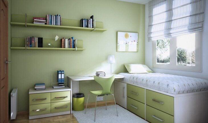 Quarto Verde 40 Fotos E Dicas Para Apostar Na Cor Para Seu Dormitório
