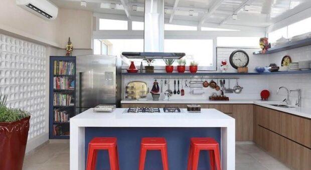 Banqueta para cozinha: 50 fotos que vão te inspirar na escolha