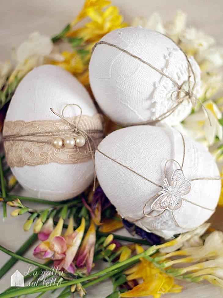 Decoraç u00e3o de Páscoa 30 ideias e enfeites para deixar sua casa linda -> Decoração De Pascoa Jardim