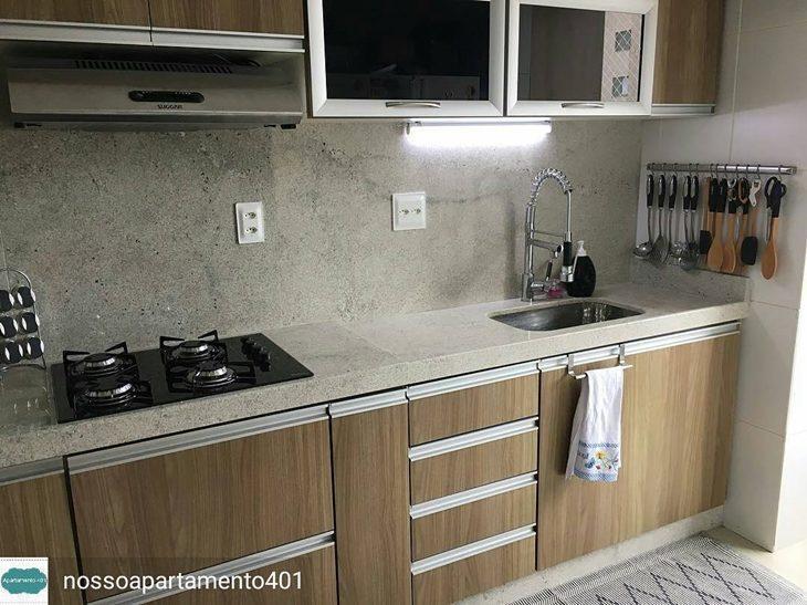 Famosos Granito branco: beleza e sofisticação para o seu lar (70 fotos) KU23