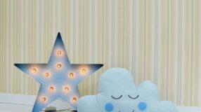 70 papéis de parede em quartos de bebês: inspiração sem complicação