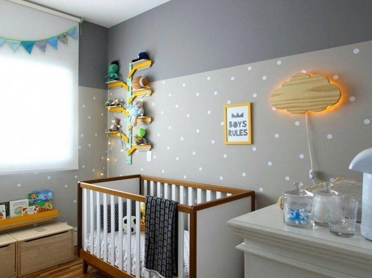 70 pap is de parede em quartos de beb s inspira o sem - Papel infantil para pared ...