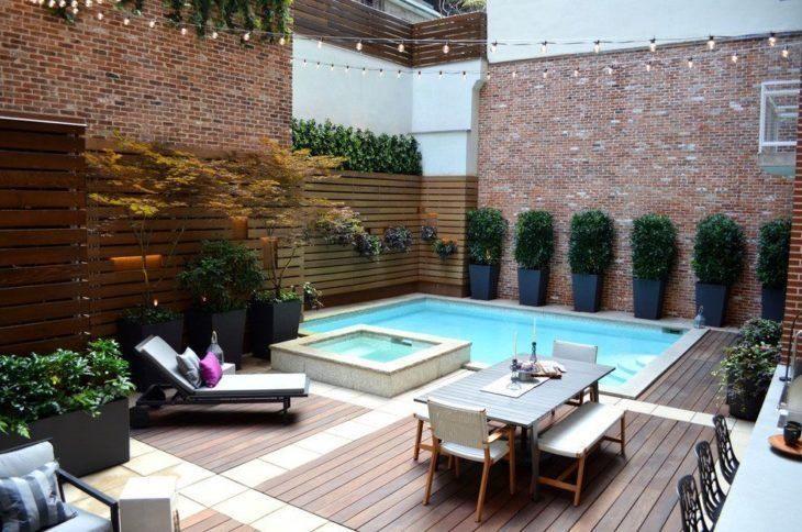 Resultado de imagem para decoração area de piscina