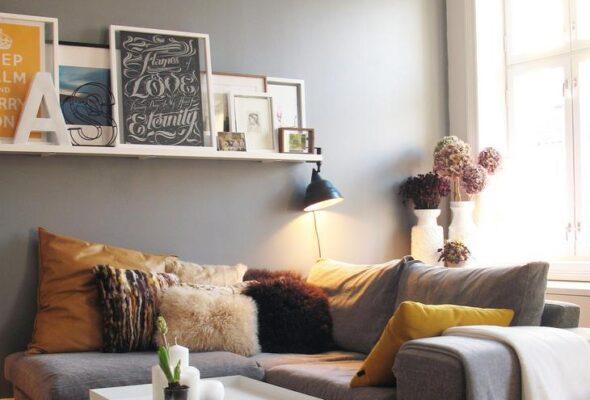 Como instalar quadros sem fazer buracos na parede