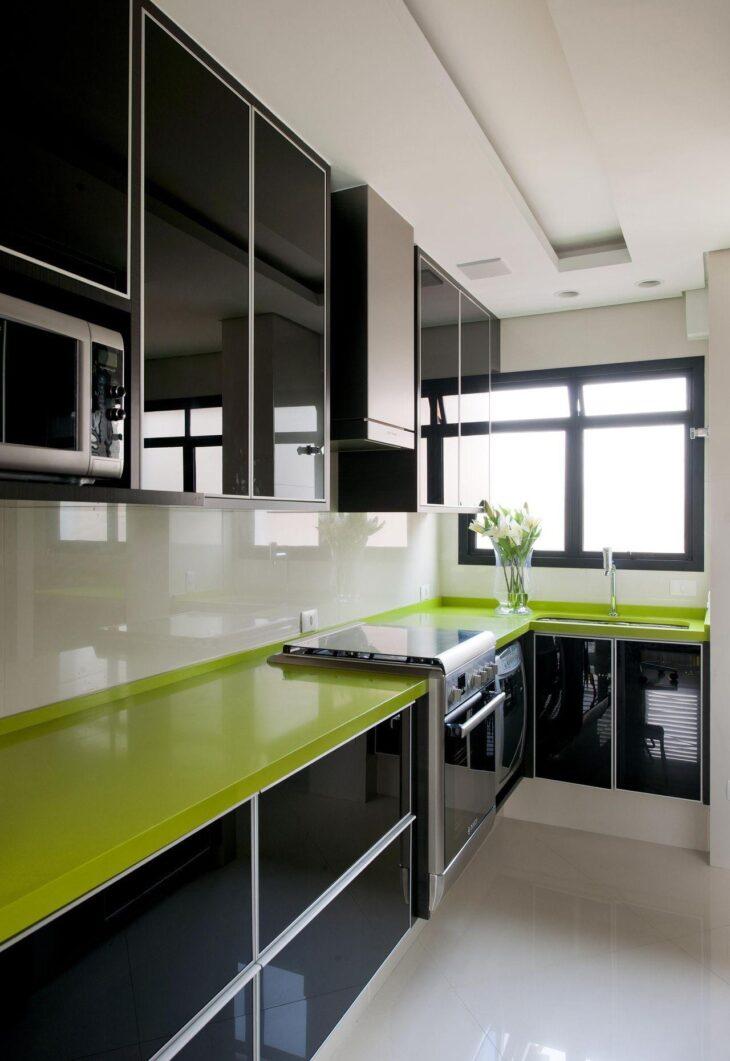 40 Inspiracoes De Cozinha Verde Para Um Ambiente Cheio De Personalidade