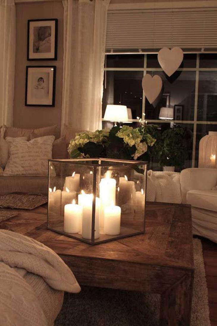 Image result for table decorations living room