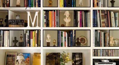 100 maneiras criativas de utilizar livros na decoração