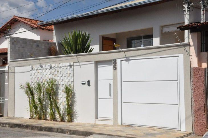 Amado 100 modelos de portões para uma fachada mais bonita e interessante FV79