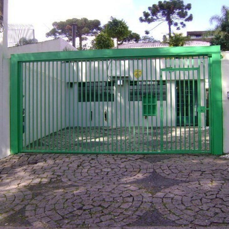 Well-known 100 modelos de portões para uma fachada mais bonita e interessante IJ85