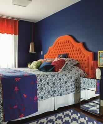 150 quartos coloridos que farão você acordar de alto astral