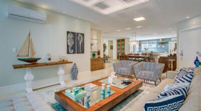 Apartamento na praia valoriza integração e aposta no sereismo