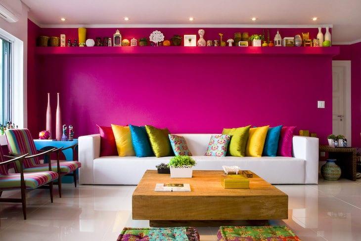 Resultado de imagem para combinação de cores sala