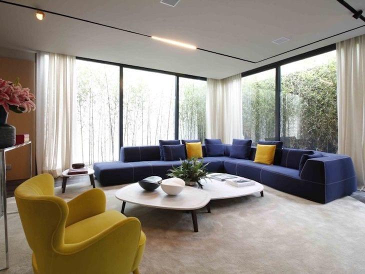 Cores para sala 85 ideias para combinar sem erro for Cores para sala de estar 2017