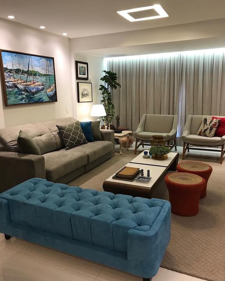 Sofa Verde Escuro Combina Com Que Cor De Tapete | www ...