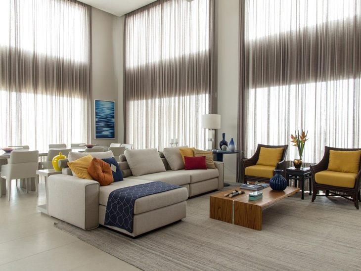 40863150b1264b O charme das mantas: 70 ideias para deixar seu sofá mais estiloso