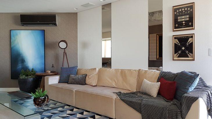 Manta de croche para sofa de canto sala pequena com sofa for Manta no sofa como usar