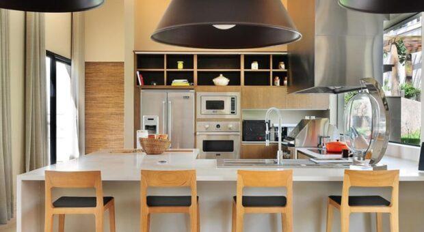 100 inspirações de cozinhas gourmet que vão fazer você desejar ter uma