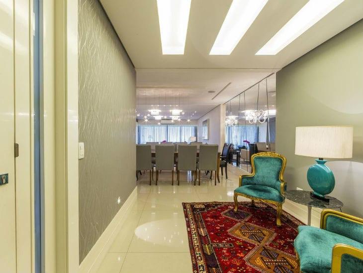 530ce3a36 Hall de entrada  100 inspirações de decoração apaixonantes