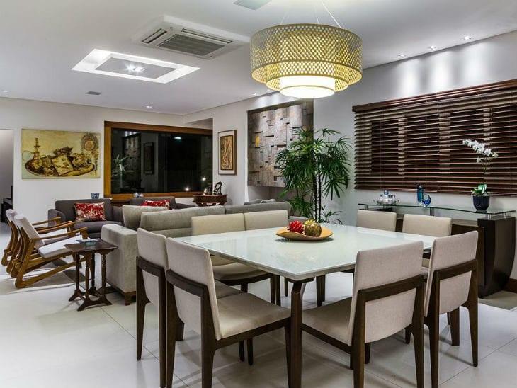 Resultado de imagem para Modelo de mesas de jantar modernas 6 lugares