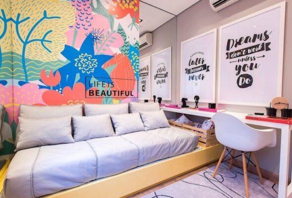 30 quartos incríveis com cama no chão para você se apaixonar